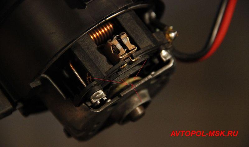 Автоматический привод задней двери
